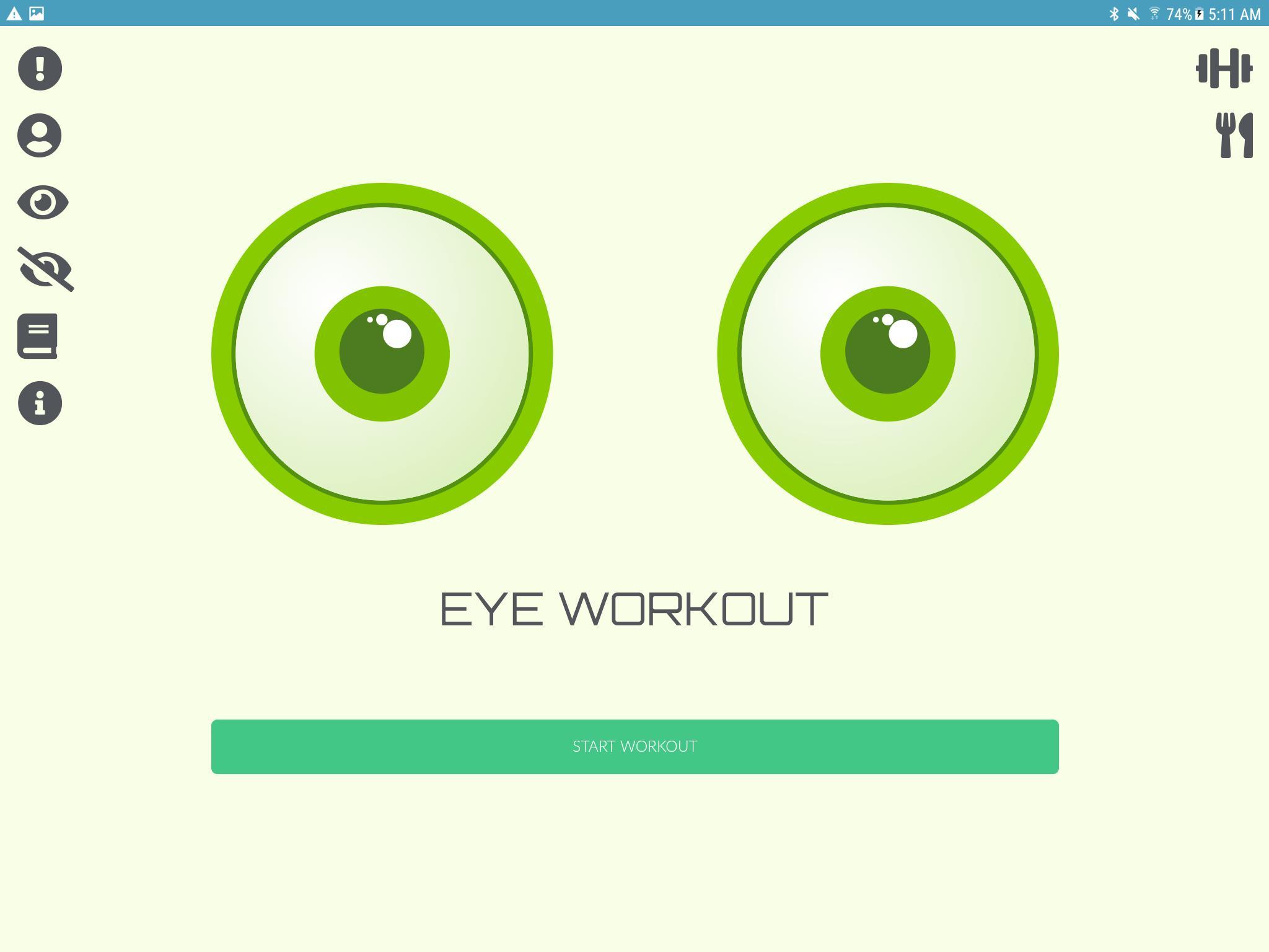 a látást javító alkalmazás gyakorlási videók a látás javítása érdekében